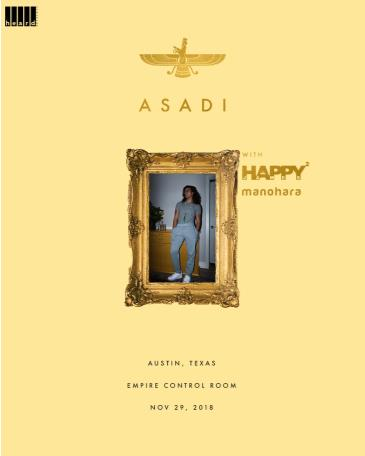 ASADI w/ Happy Happy James World + Manohara: Main Image